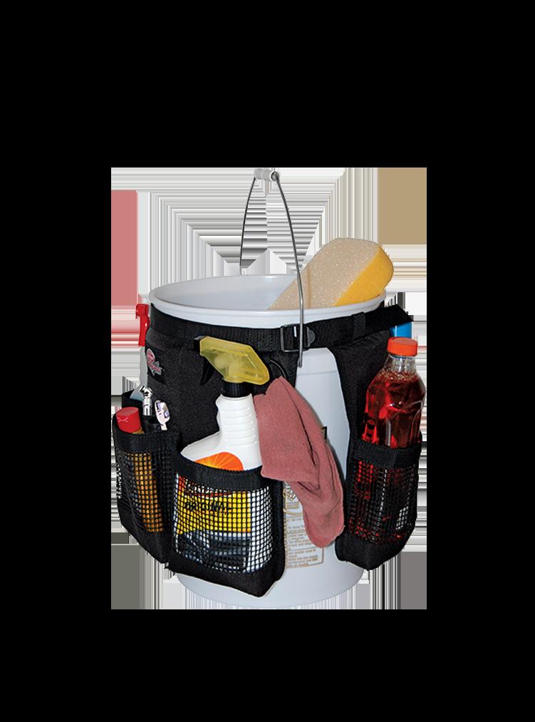 BO Werkzeugtasche mit Eimer für Autowäsche