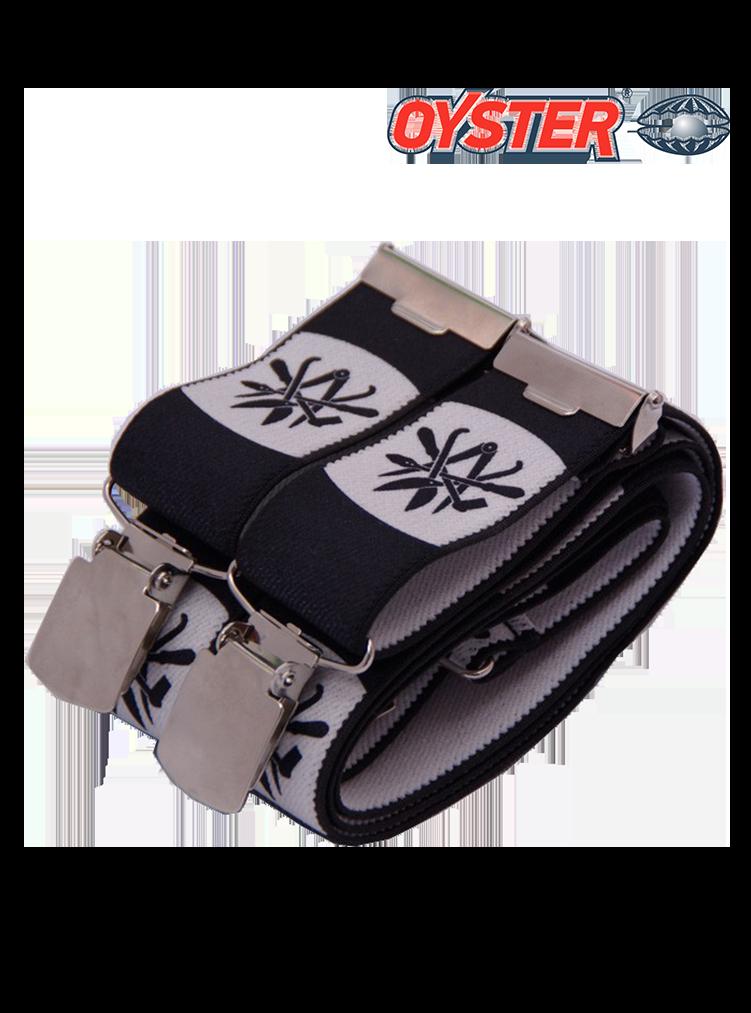 Hosenträger mit Klempner-Spengler Emblem