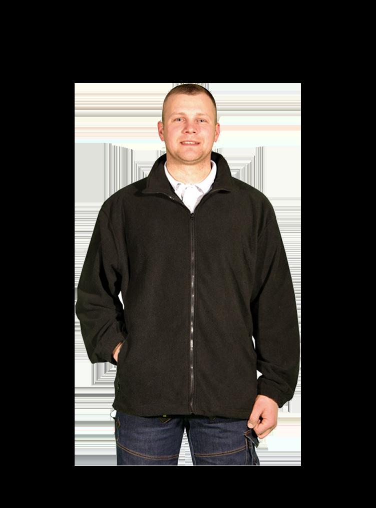 Outdoor Full Zipp Fleece Jacke