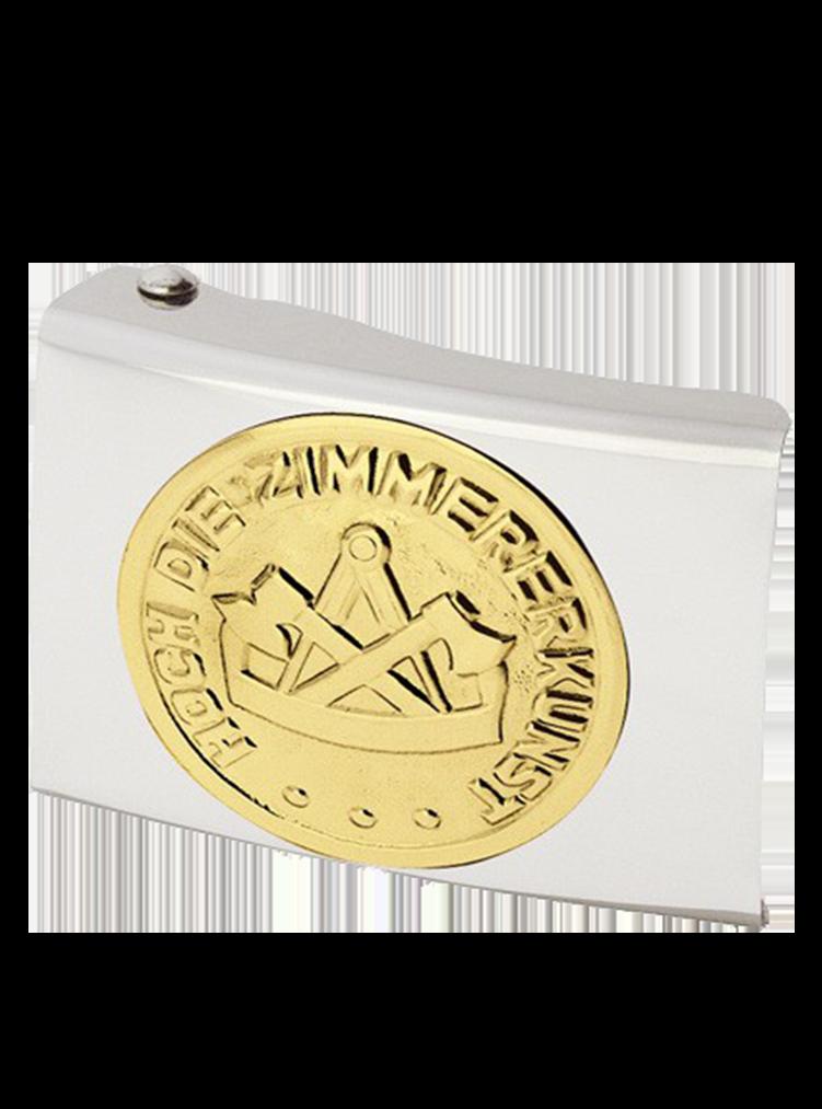 Koppelschloss mit Zimmermann Emblem