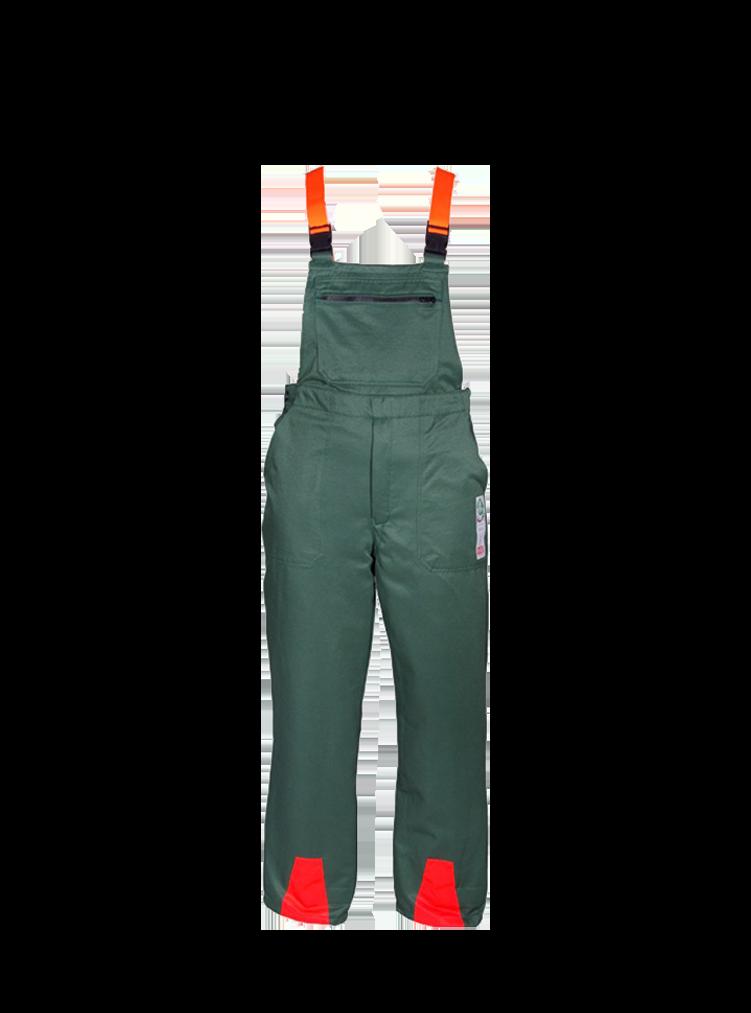 Schnittschutzlatzhose EN381-5A Klasse 1