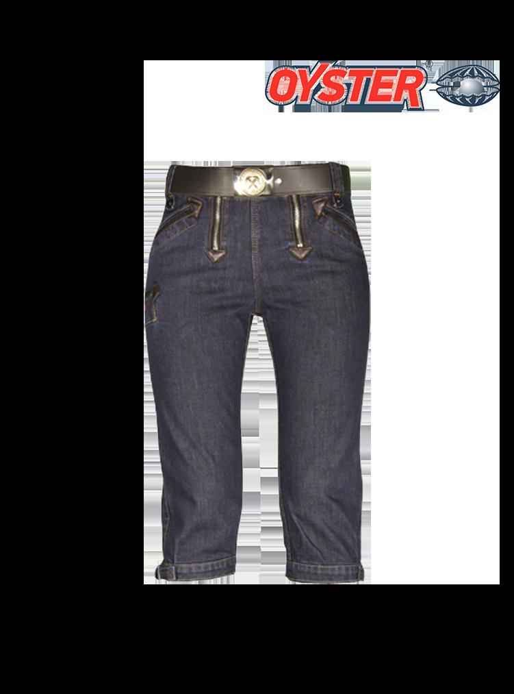 GABI Kniezunfthose Jeans Stretch