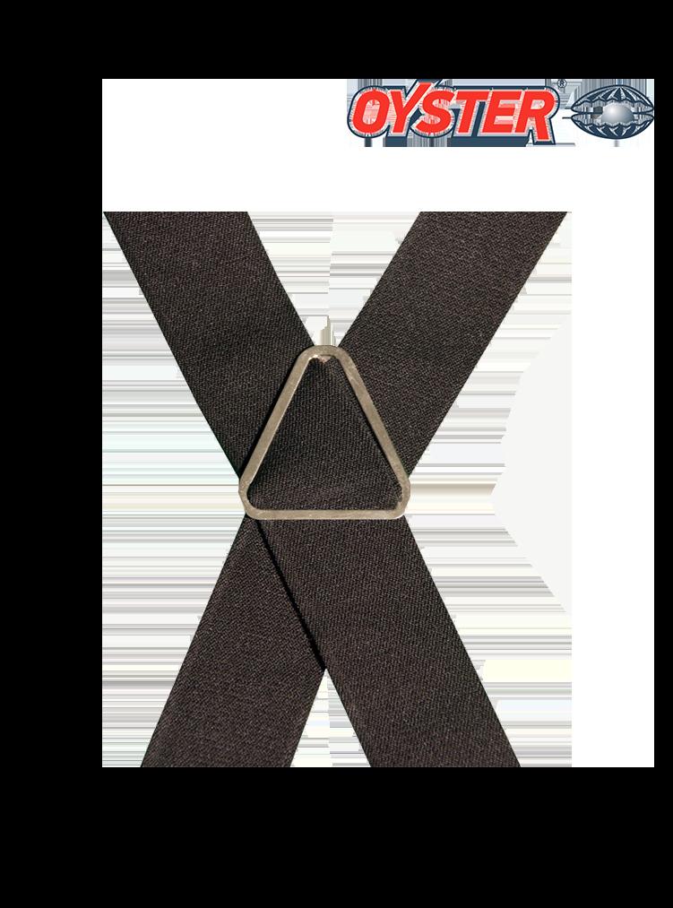 Hosenträger mit Dachdecker Emblem