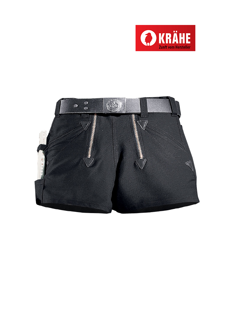 Krähe Sommerzwirn Zunft-Shorts