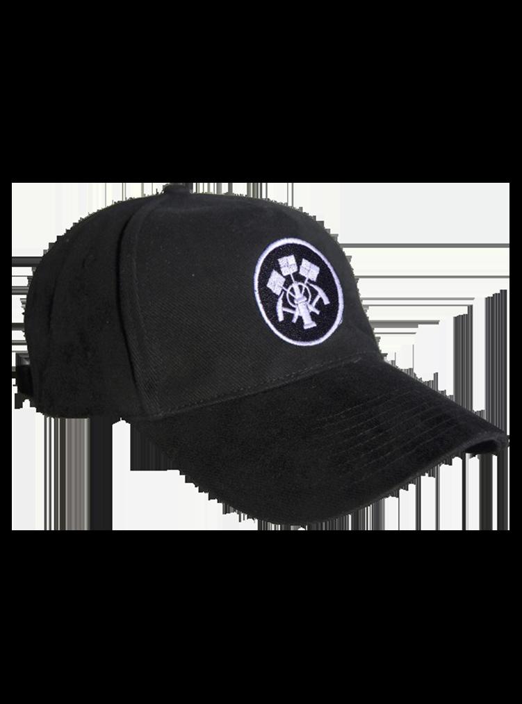 Cap mit Steinsetzer Emblem