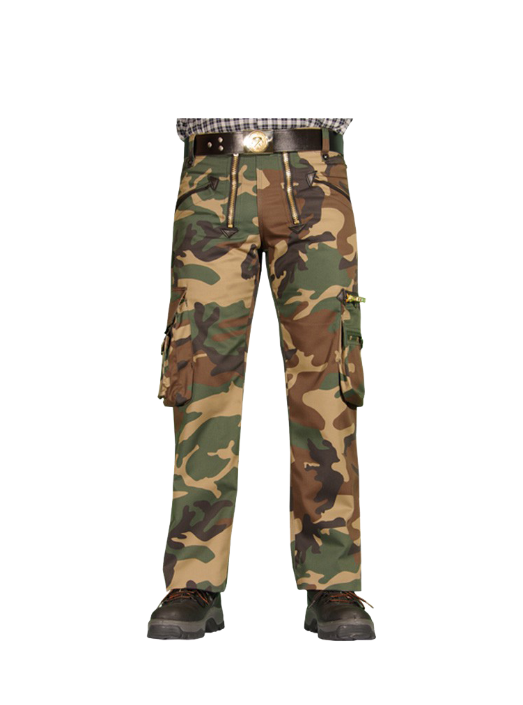 PELLE Zunfthose Camouflage ohne Schlag