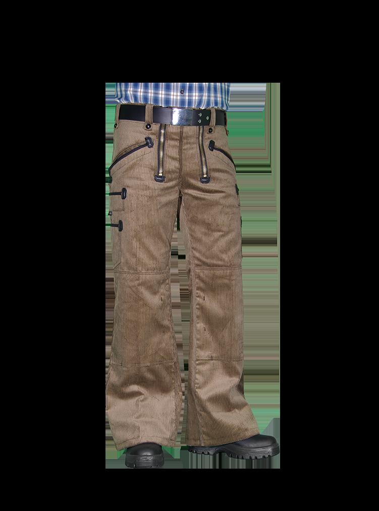 JACK Zunfthose TrenkerCord mit Schlag und Knietaschen