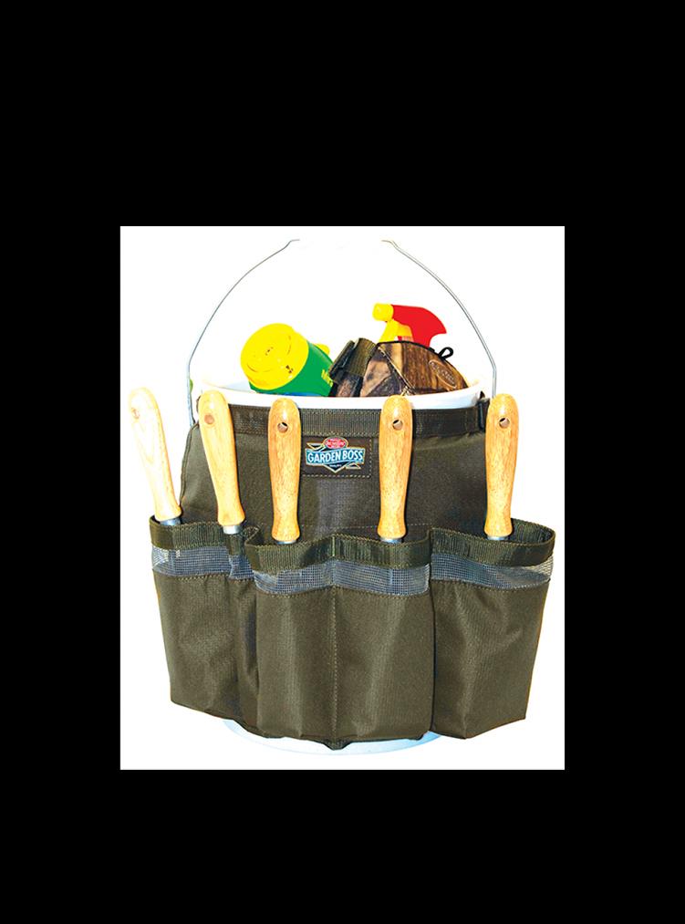 BO Werkzeugtasche mit Eimer für Garten