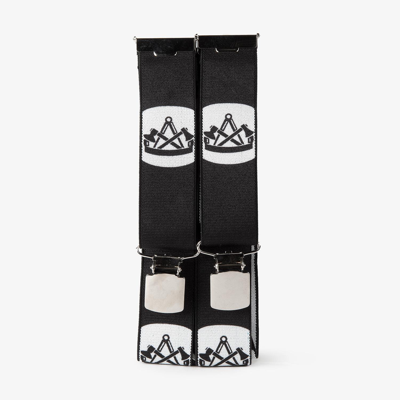 Hosenträger mit Zimmermann Emblem